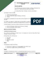 PR Creación de Clientes en SAP