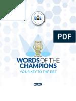 Spellbee Words