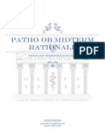 Obstetrics Midterms Rationale 2nd Sem 2018 2019