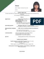 Resume Example Format For Ojt Ojt In Philippinesresumesjob Application Letters Sample Resume Resume Example Resume Example Job