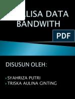 Analisa Data Bandwith
