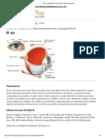 El Ojo_ MedlinePlus Enciclopedia Médica Illustración
