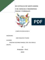 Sesion 2 - PARTE II - Redes II - Vizcardo Ramos Cristian