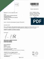 Decreto 1873 del 16 de octubre de 2019, Roberto Andrés Calderón
