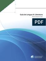 Guía Español a Literatura Ns 2021