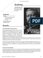 Paul Von Hindenburg - Metapedia