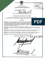 Decreto 1354 Del 26 de Julio de 2019