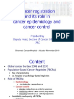 Cancer Registration and Its Role in Cancer Epidemiology and Cancer Control
