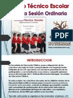 Orientaciones para la organización y realización de las tres sesiones