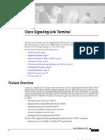 Cisco Signaling Link Terminal