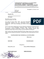 Surat Pengantar Proposal Musholla