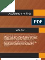 Alcaloides y Anilinas