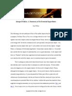 Ken Wilber - Integral Politics- Ingredientes