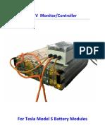 Tesla Modul Controller Battery