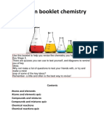 Chemistry Revision Booklet