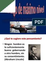 3.- Efectividad Interpersonal Lideres de Maximo Nivel Cap 4