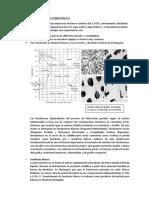 Microestructura en La Fundicion Fe c