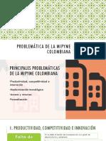 Problemática de La Mipyme Colombiana