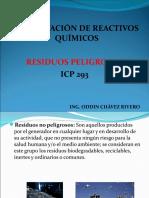 Desactivación de Reactivos Químicos