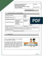 Gi 3 -Gestión Tecnológica