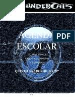 Agenda Escolar 2019-2020 Quinto b