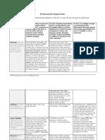 professional development plan  - cody bruno