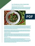 10 Manfaat Sayur Kangkung Untuk Kesehatan