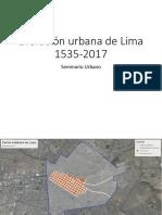 Evolución Urbana de Lima