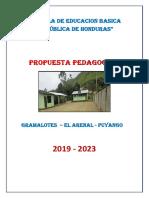 Propuesta Pedagogica Rdh 2019