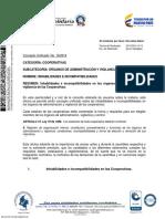 16. Inhabilidades e Incompatibilidades en Las Cooperativas