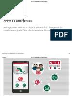 APP 9-1-1 Emergencias _ 911 _ Gobierno _ Gob.mx