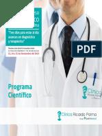 Programa XVI Congreso Medico 2019
