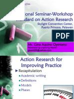 International Seminar Workshop Standard on Action Research_Puerto Princesa.pptx