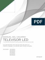 Manual TV Led LG