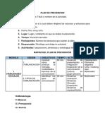 Plan de Pr5evencion
