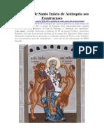 A Epístola de Santo Inácio de Antioquia Aos Esmirnenses