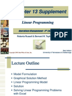 LinearProgramming-Russell-Taylor.ppt