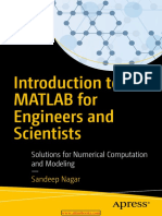 Introduction to MATLAB for Engineers and Scientists