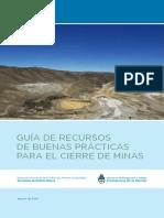 Guia de Recursos de Buenas Practicas Para El Cierre de Minas en Argentina 3032