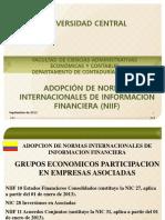Presentacion Nic 27. Niif 10, Nic 28, Nic 31, Niif 11 e Ifrs3