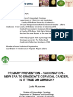 Primary Prevention – Vaccination – New Era To Eradicate Cervical Cancer, Is It True Or Gimmick?