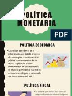 Politica Econoìmica