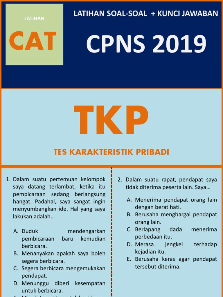 Latihan Soal Cpns 2019