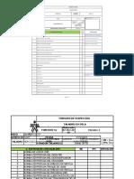 Formato de Inspeccion Sistema de Circulacion