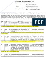 Audit Report_Human Resource Department_August'19