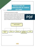 Taller 07_Estructura de Descomposicion de Tareas (EDT)