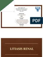 Equipo 1 Litiasis Renal