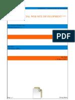 Commercial Web Site Development