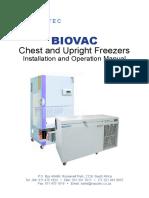 Operon Dfut-374 Freezer Manual