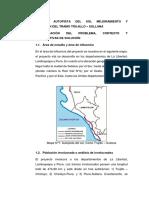 Informe - Proyecto Vial Trujillo Sullana